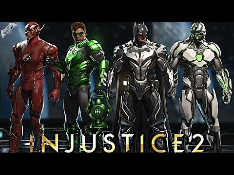 Injustice 2 Online - EPIC CRIME SYNDICATE LOADOUTS!