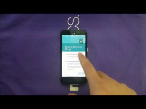 ZTE AVID TRIO  How To Move Apps,Games To SD Card