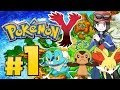 Let's Play Pokémon Y - Part 1 - The Next Generation!