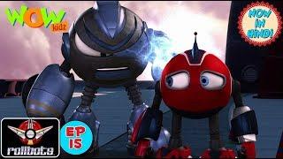 Vir presents RollBots | Episode 15 | 09:F9:11 | Action | Cartoon for Children | WowKidz