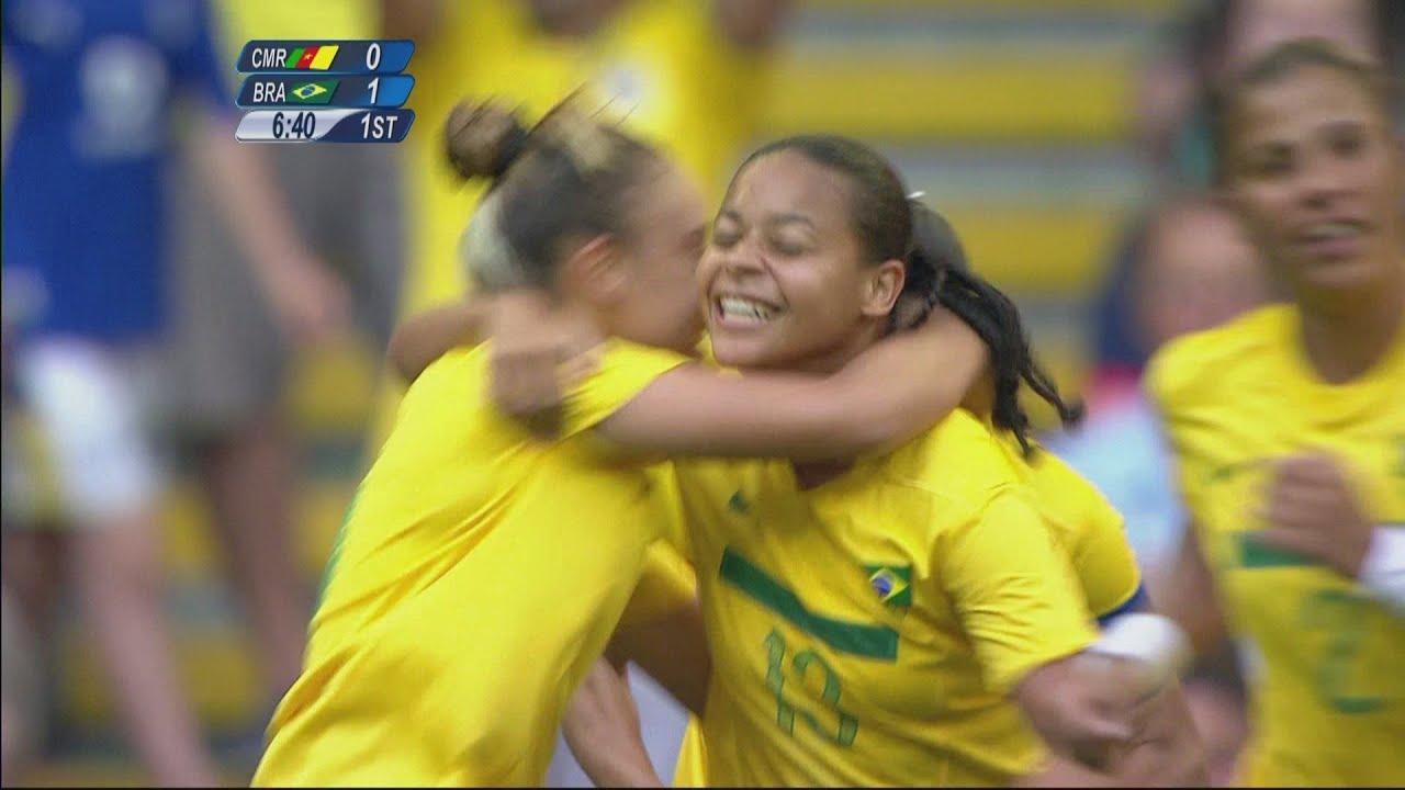Cameroon 0-5 Brazil -Women's Football Group E | London 2012 Olympics