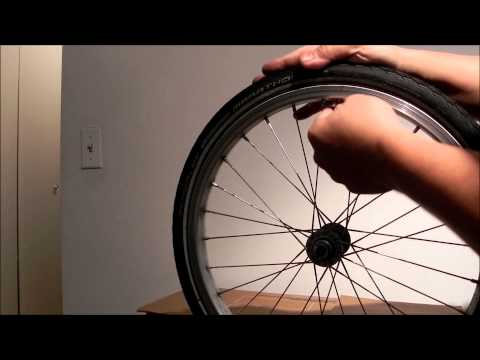 REMOVE/INSTALL A DIFFICULT BIKE TIRE