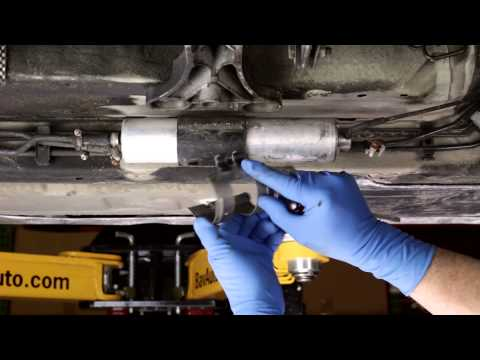 Replacing an under-car fuel filter on a BMW - How To