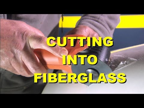 Episode 12 Cutting into Fiberglass in HD