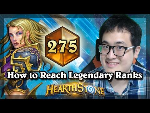 Hearthstone - How to Reach Legendary Ranks