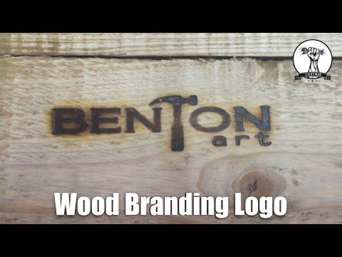 Wood Branding Logo