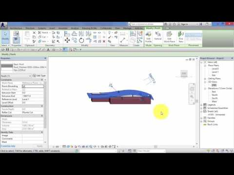 Module 4: Unit 11: Revit Architecture: Roof by Extrusion