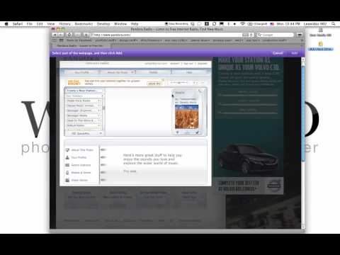How to: Pandora to a Mac OS X widget in 1 minute [ Easy and Fast ]