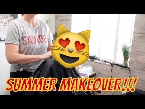 TEEN SUMMER HAIRCUT AND COLOR MAKEOVER | THE LEROYS