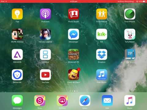 Tutorial:How to get MCPE maps and mods on iOS No jailbreak and pc 2017