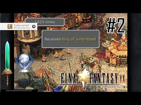 Final Fantasy IX PS4 Perfect Excalibur II Platinum Walkthrough Part 2