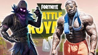 #1 BODYBUILDER FORTNITE PLAYER // SQUADS WITH TOP CONSOLE PLAYERS