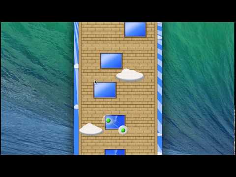 Window Climber v1.1 gameplay - use suction cup to climb on building. It is not as easy as you think!