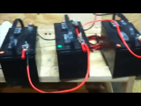 How to charge multiple batteries