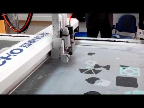 iECHO digital cutting plotter, automatic cutting machine for rubber gasket cutting