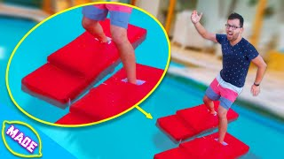 We Made Shoes That Can WALK ON WATER!! Challenge!!