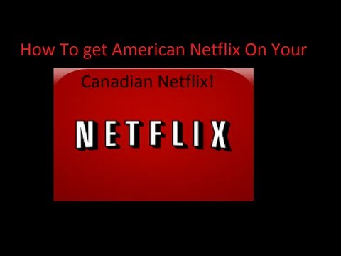 How to get American Netflix on your iPhone/IPad/IPod for FR