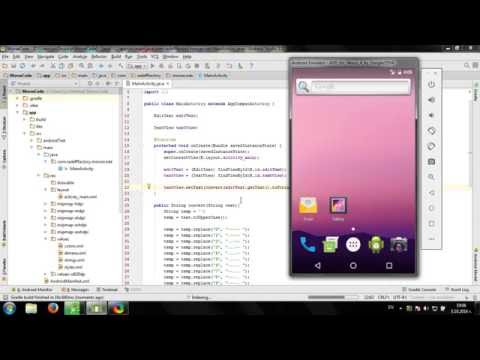 Develop simple Morse Code Converter in Android Studio