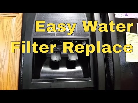 How to Replace Whirlpool Refrigerator Water Filter.