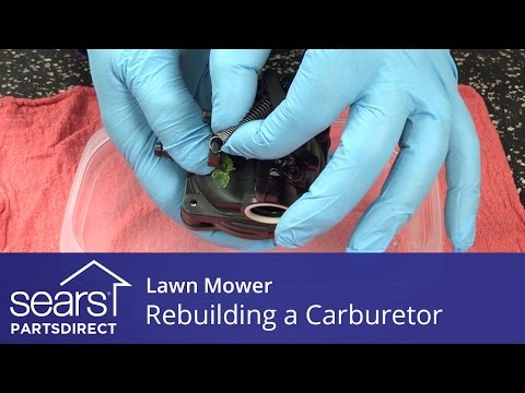 Rebuilding the Carburetor on a Lawn Mower