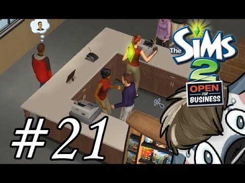 The Sims 2 Open for Business | Part 21 | Manager, Obtained!
