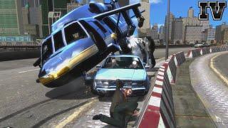 GTA IV - Crashes, Bailouts, Ragdolls & Fails Compilation #58 [1080p]