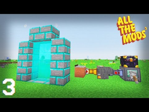 All The Mods 3 | Refined Storage & RFTools Builder Setup! | E03 (All The Mods 3 Let's Play)