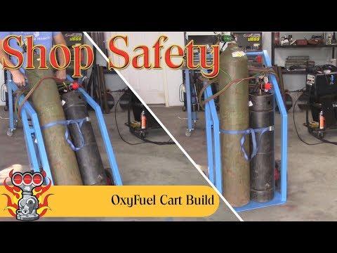 Oxygen Acetylene Cart Build Part 1 of 2