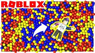 THE LARGEST BALL PIT OBBY IN ROBLOX!!