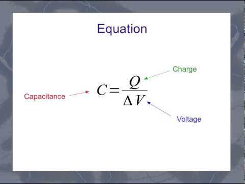 The General Capacitor Equation