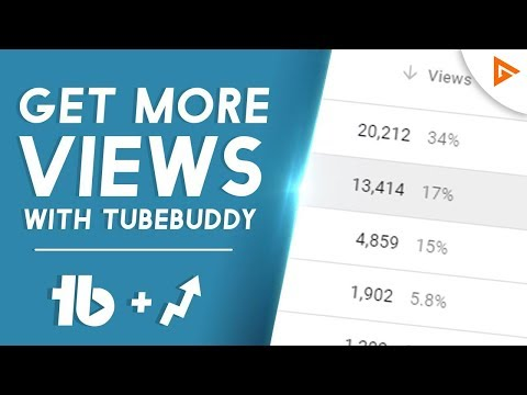100 Views Everyday? | How To Get More Views With TubeBuddy!