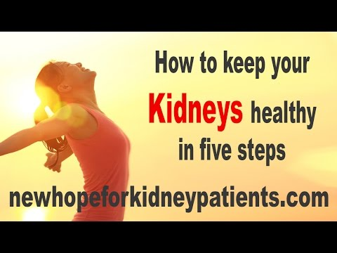 How to keep your kidneys healthy in 5 steps