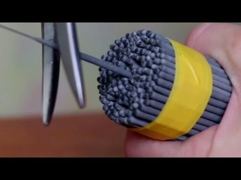 How to make a ROCKET out of sparklers