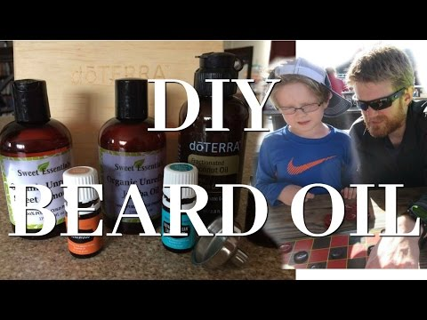 HOW TO MAKE BEARD OIL | DIY