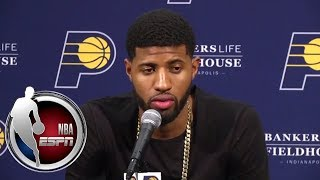 Paul George responds to boos from Pacers fans | ESPN