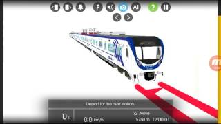 Very,very,very FAST TRAIN!! Hmmsim 2 train simulator! You must see