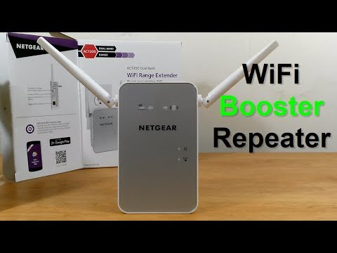 Netgear AC1200 WiFi range exTender Setup - Wifi Repeater Setup/review - wifi exTender gaming fps