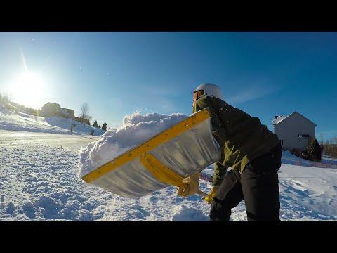 Huge Backyard Kicker   Snowday SKI EDIT - GoPro 4
