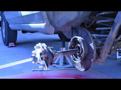 How to Change Rear Axle Seals and Bearings on a Jeep Grand Cherokee WJ