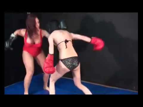 SEXY FEMALE BOXING