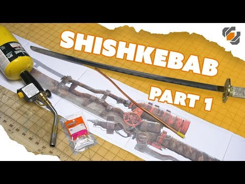 Building A Real Fire Spewing Shishkebab from Fallout - Part 1: Design