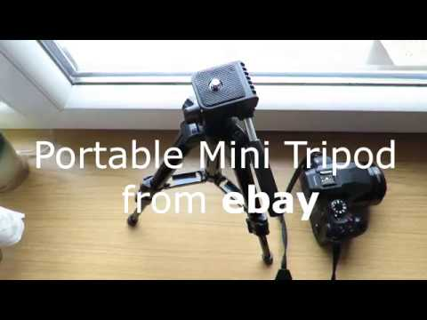 Mini tripod from ebay