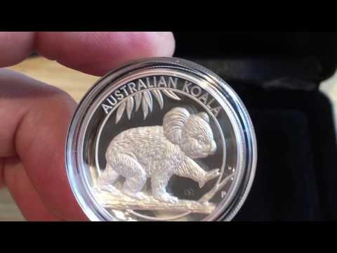 Koala high relief 1oz silver coin
