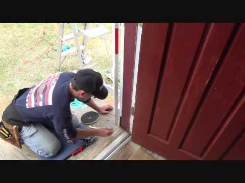How to weatherstrip a security screen door...Part 1