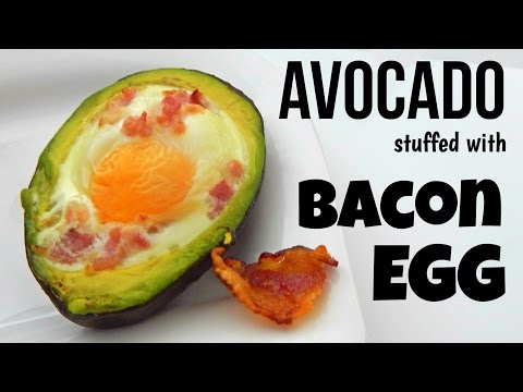 How To Make EGG STUFFED AVOCADO (Simple Home Recipe, Breakfast Recipe) - Inspire To Cook