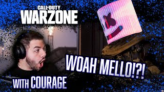 WOAH I Can't Believe I Did That! Marshmello Call of Duty Warzone Stream Highlights w/ CouRage