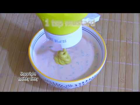 American Salad Dressing with Yogurt Recipe