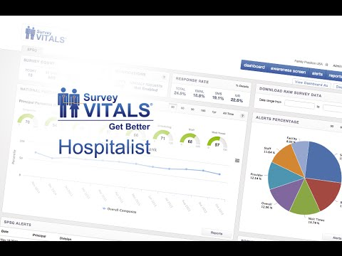SurveyVitals Hospitalist Overview