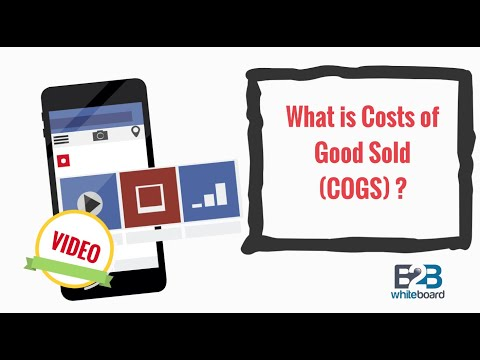 What is Costs of Good Sold (COGS) ?