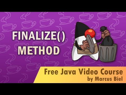 Java Object finalize() method